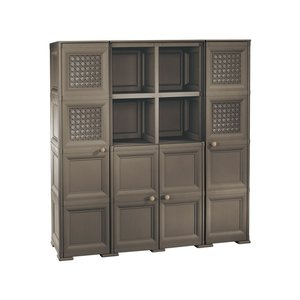 Tontarelli Omnimodus Choco Cabinet with 4 Tiers