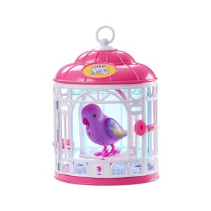 Moose Toys Little Live Birds in Cage Dreamy Genie