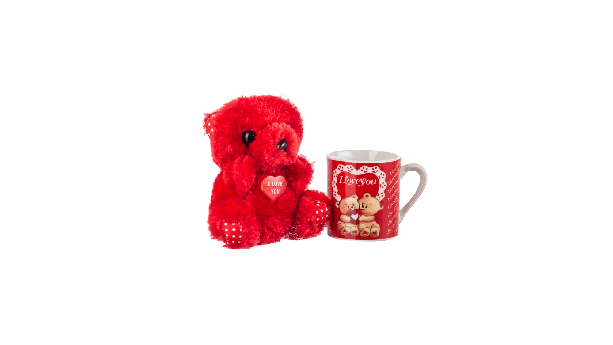 Smile Set of Cup and Bear