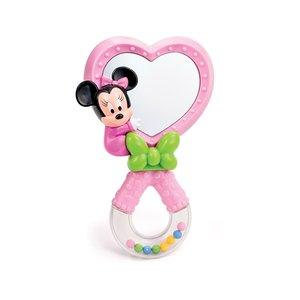Clementoni Minnie Baby Rattle with Mirror