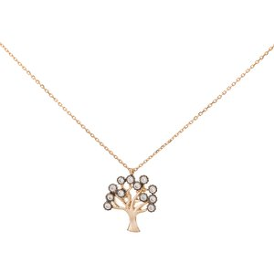 Italgold Gold Necklace with Tree of Life Medallion