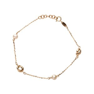Italgold Gold Bracelet with Beads