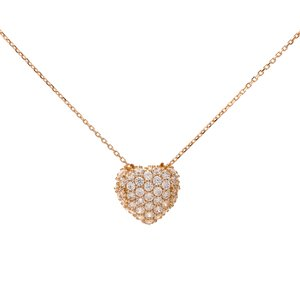Italgold Necklace with Heart Medallion