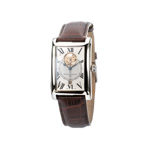 Frederique Constant Wristwatch with Brown Leather Strap