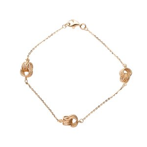Italgold Gold Bracelet with Rings