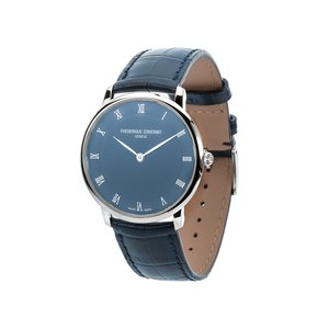 Frederique Constant Wristwatch with Blue Leather Strap