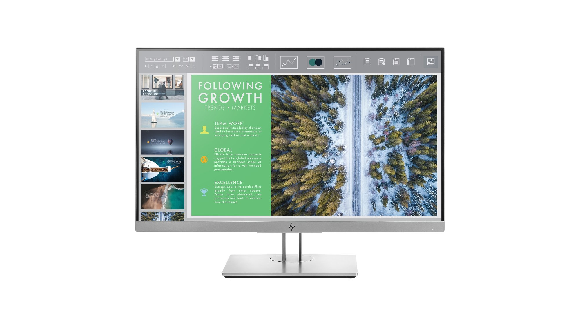 "HP EliteDisplay E243 23.8"" Monitor 1FH47AA"