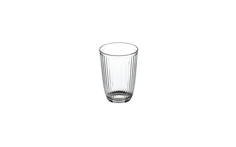 Bormioli Rocco Line Set of Stemless Drinking Glasses 0.39 L